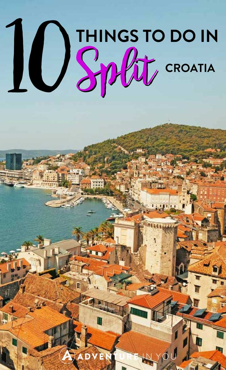 Split Croatia | Planning a trip to Croatia? Here are my top tips on the best things to do in this beautiful city. From enjoying the beaches to the old town, Split has something for everyone. #croatia #europe
