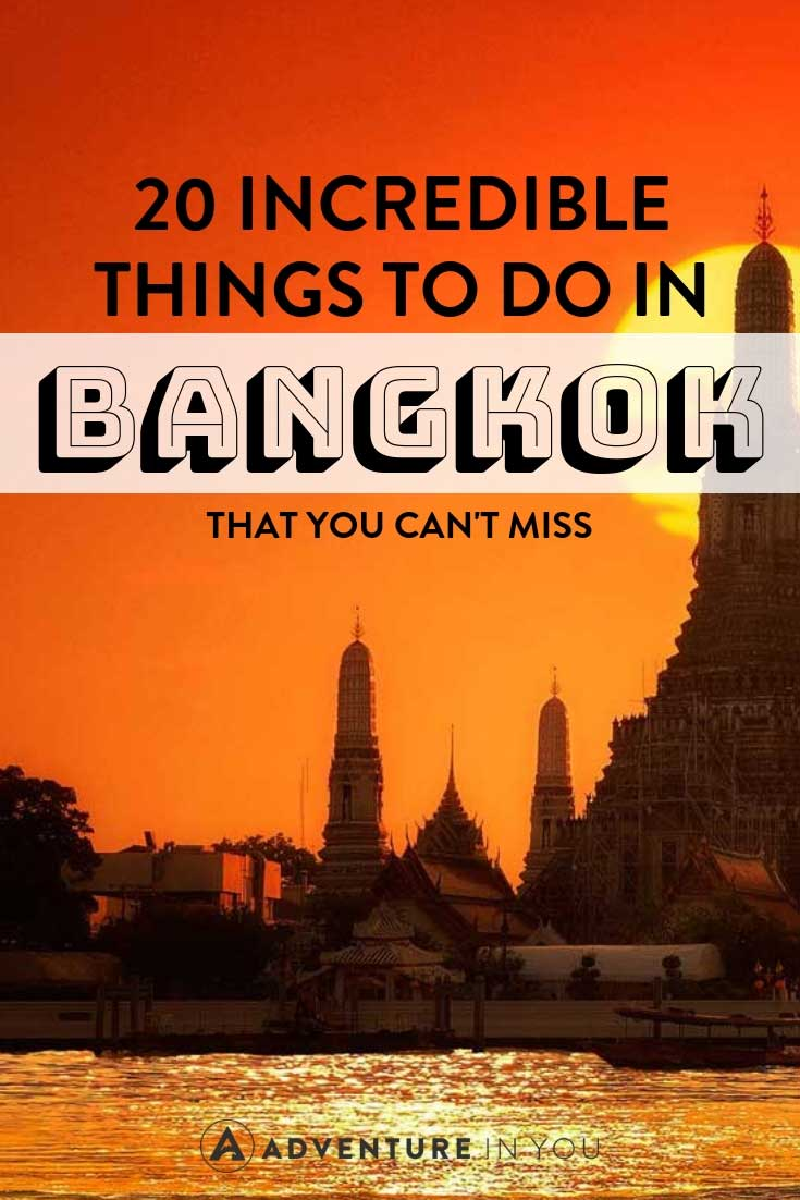 Bangkok | Looking for things to do in Bangkok, Thailand? Here is our full article featuring 20 of the best things to do in this incredible city #bangkok #thailand