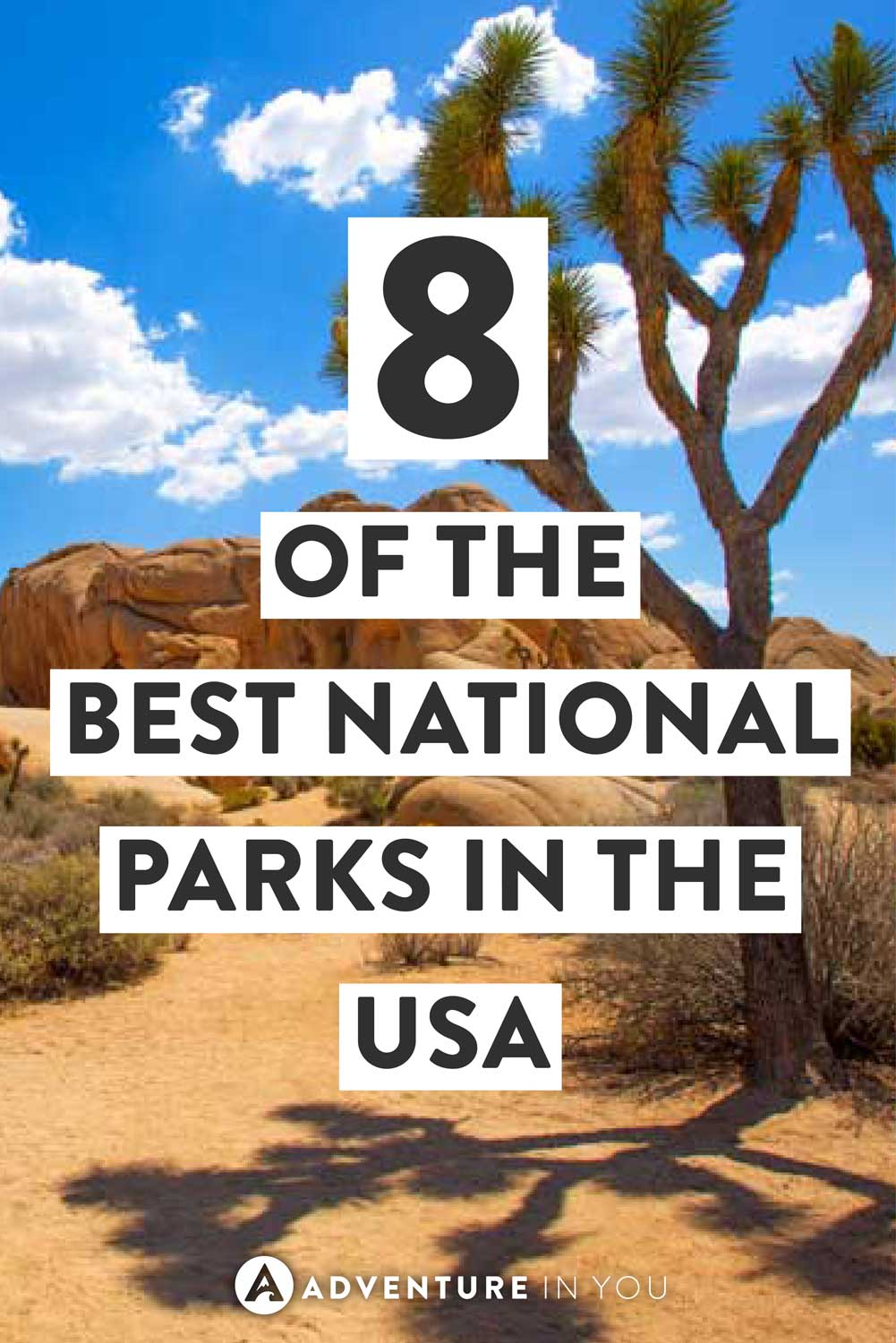 USA National Parks | Looking for the best national parks to visit? Here are 8 of the best ones that are worth adding to your bucket list! #usa #nationalparks