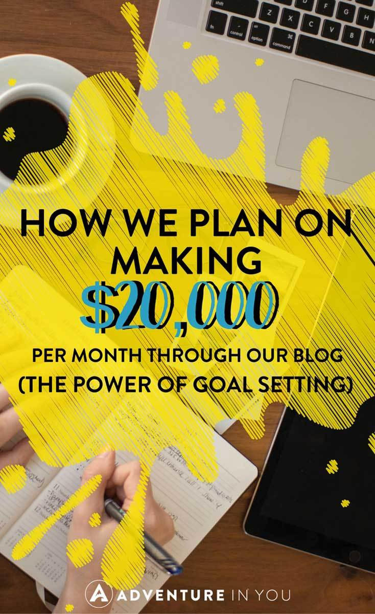 Goal Setting | One of the things that we strongly believe in is the power of goal setting. This year, we are laying out our dreams out there which include making $20,000 from our travel blog. #blogging has changed our lives and we can't wait to start making our dreams happen! #travelblog #goatsetting #newyear