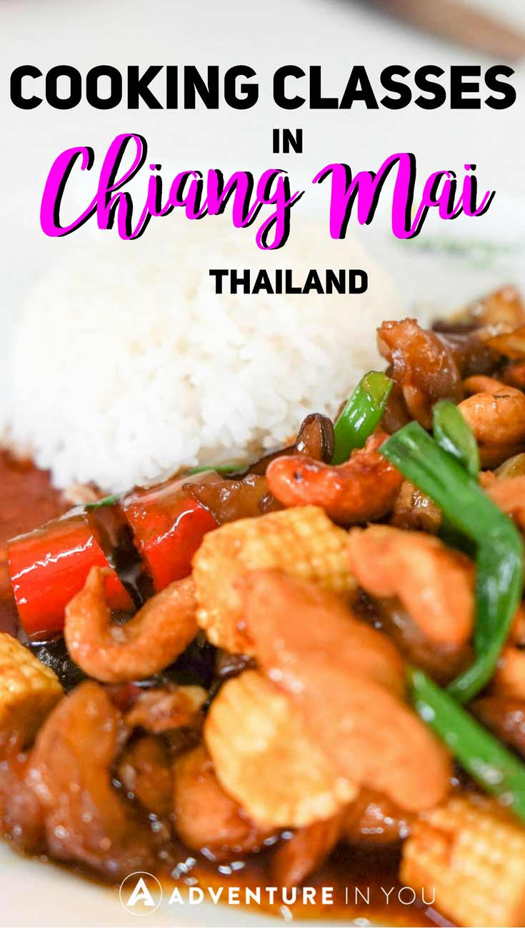 Chiang Mai Travel | One of the best things to do in Chiang Mai is to take cooking classes. This fun activity is something we highly recommend to everyone breezing by for a visit. We recently booked a cooking class where we learned how to cook some of our favorite Thai dishes. #chiangmai #cookingclass #thailand