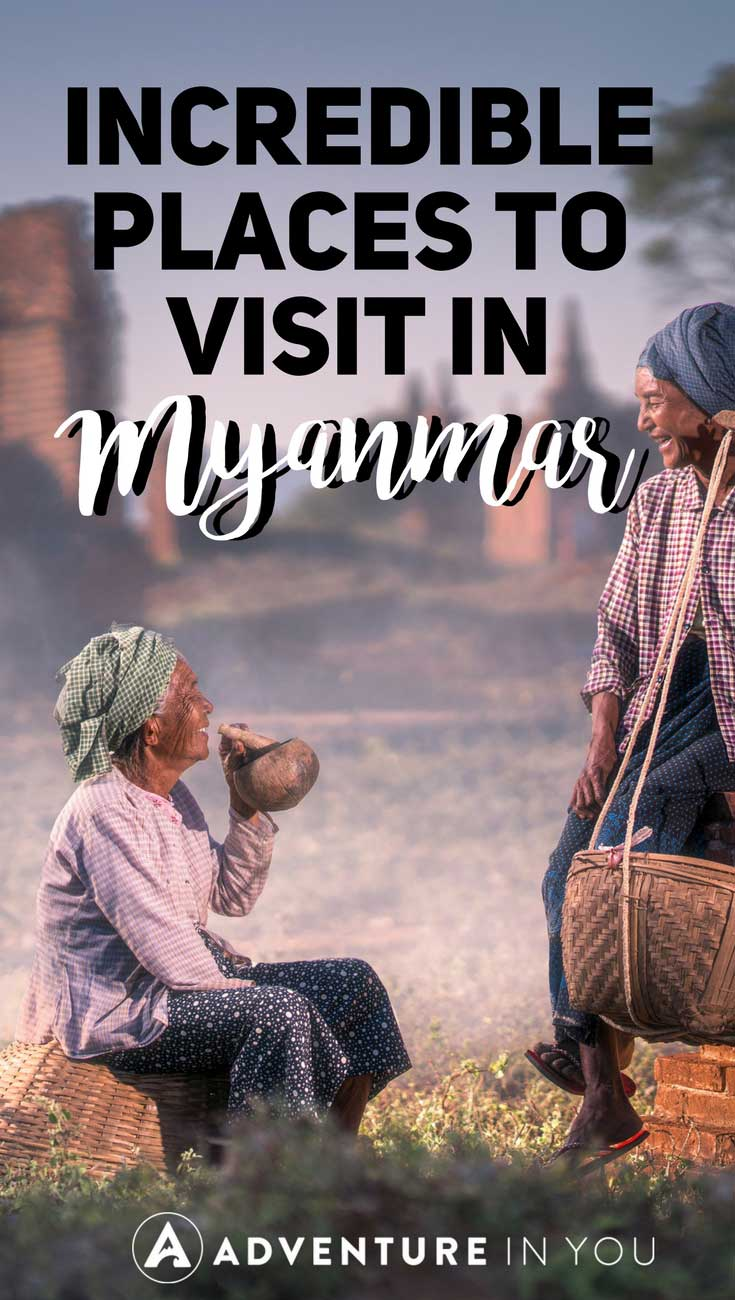Myanmar Travel | Looking for tips on traveling Myanmar? Here is our compilation of the best things to see and do in Myanmar. From visiting the temples of Bagan, busy city of Yangon or climbing the Madalay Hill, Myanmar has something for everyone. #myanmar #asia #burma