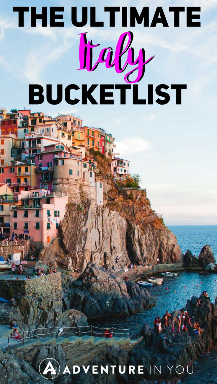 Italy | Looking for the best things to do in Italy? Check out our ultimate Italy bucket list featuring the best places to go, things to do, and must do activities in Italy. #Italy