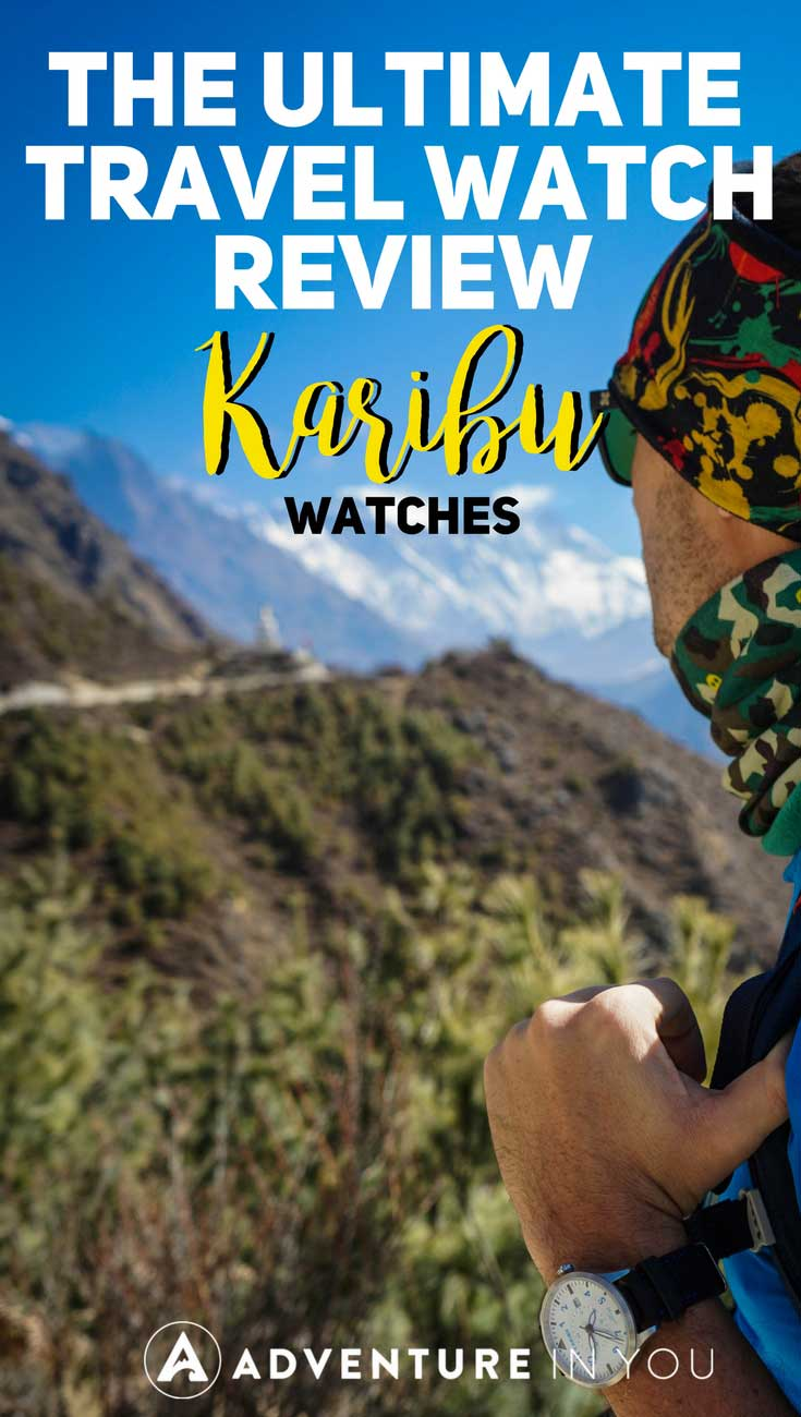 Travel Watch | Looking for the best travel watch? We recently reviewed Karibu Watches featuring an affordable watch that is both versatile and rugged. This watch is the perfect gift for any traveler. #travelgear #watch