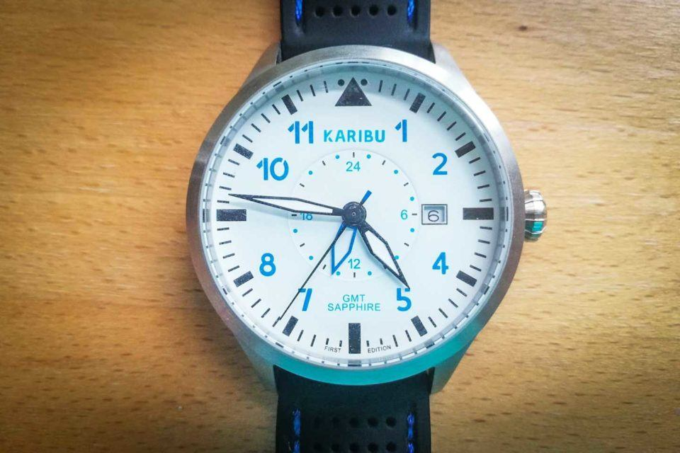 karibu watch closeup