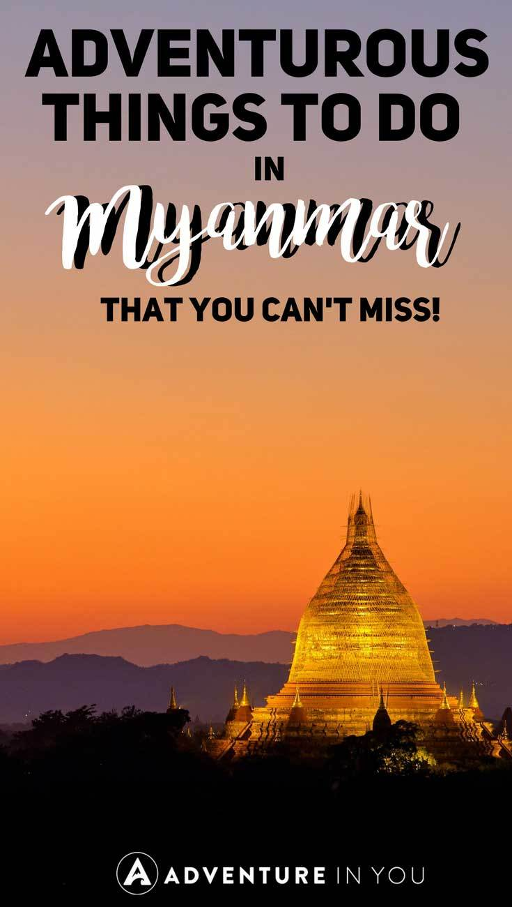 Myanmar Travel | Planning a trip to Myanmar? Take a look at our guide to the best adventurous things to do in Myanmar. From trekking to scubadiving, Myanmar is full of incredible sights and sounds waiting to be discovered.