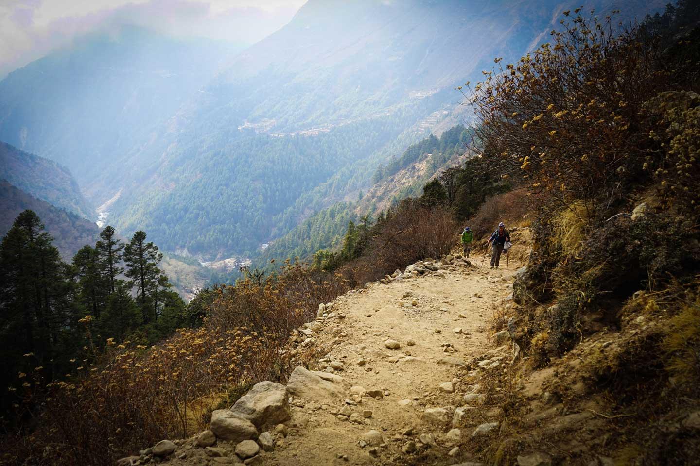 ebc trek scenery