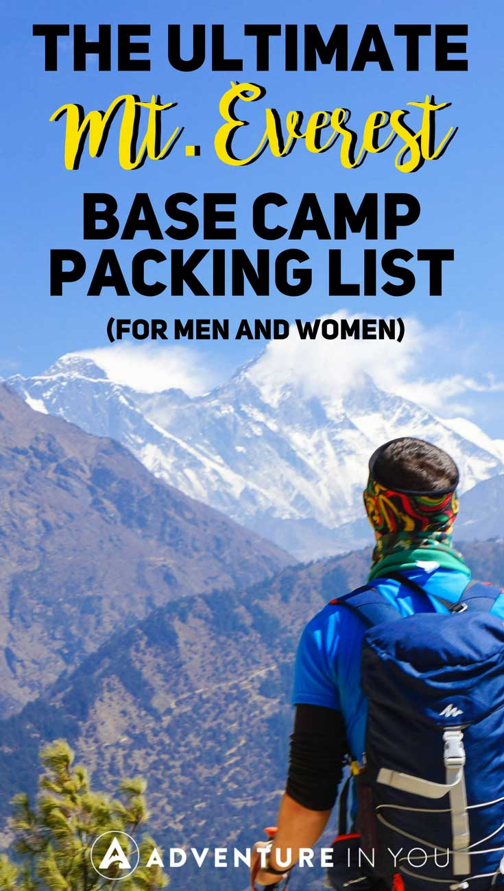 Everest Base Camp Packing List | Looking for advice on what to take with you on your Everest Base Camp Trek? Here's our complete EBC packing list guide featuring what type of clothes, footwear, and even medicines to take with you to Nepal. #nepal #everest #basecamp