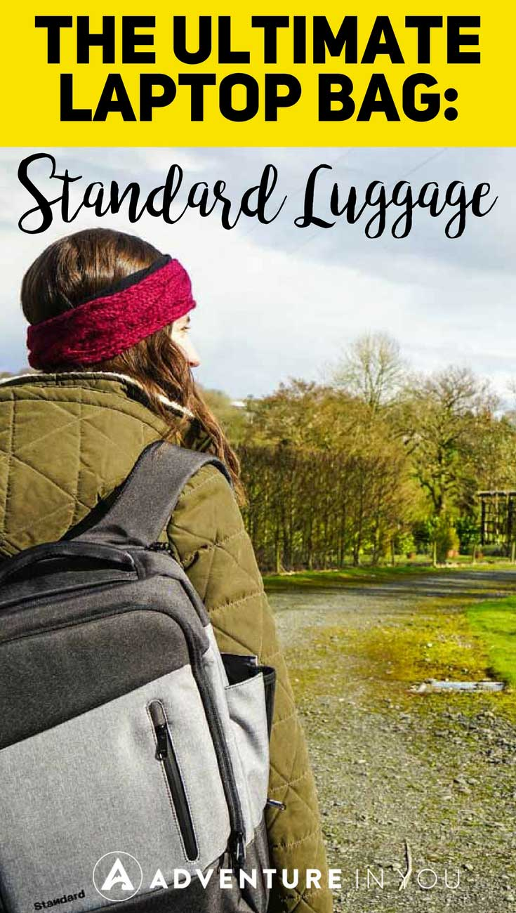 Laptop Bag | Are you looking for the ultimate laptop bag? Take a look at this travel and work backpack by Standard Luggage that's both stylish and efficient. #backpack #bags