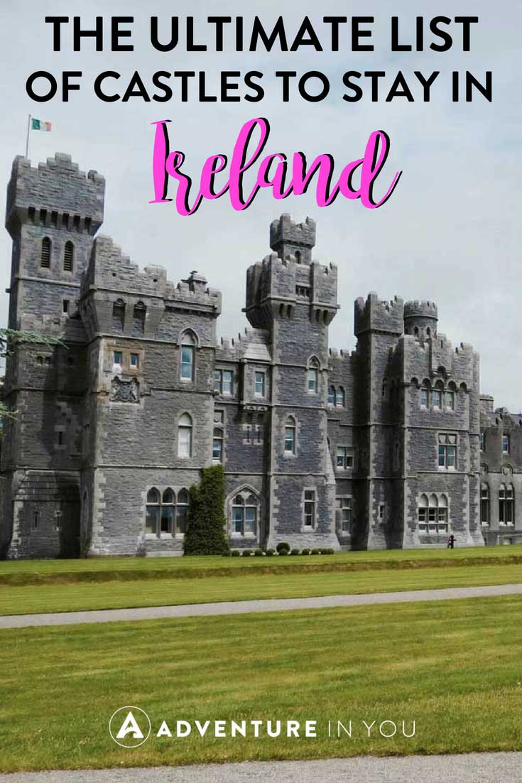 Where to Stay in Ireland | Looking for the best castle hotels to stay in Ireland? Here are our top picks for a unique stay in Ireland. Let's face it, everyone has dreamed of staying in a castle at least once in their life and where else can you do it but in Ireland?