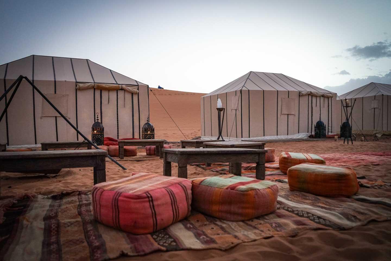 desert luxury tent morocco