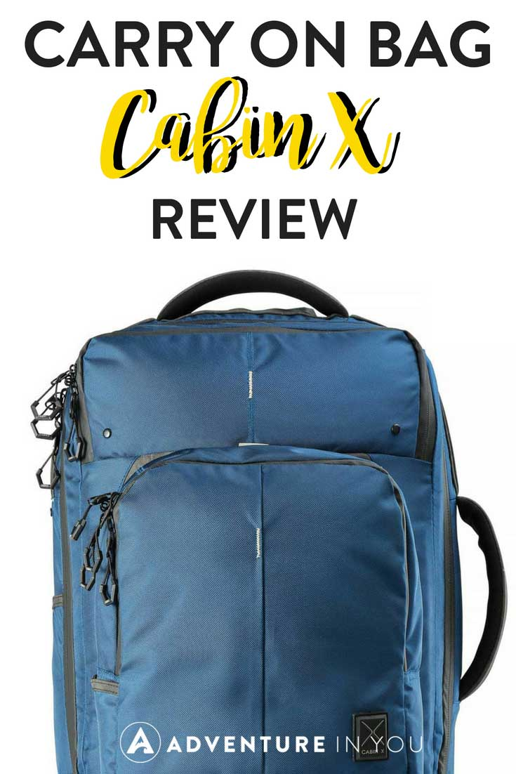 Cabin X Review | Looking for your next carry on bag? Take a look at this new one made by Cabin Max. Revolutionizing a hybrid between a backpack and a carry on trolly, this bag is pretty good if you're looking for your next travel gear.
