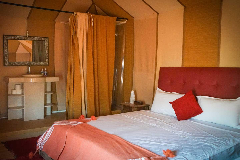 sahara desert luxury tent