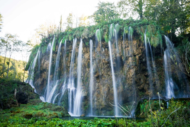 waterfalls plitvice lake