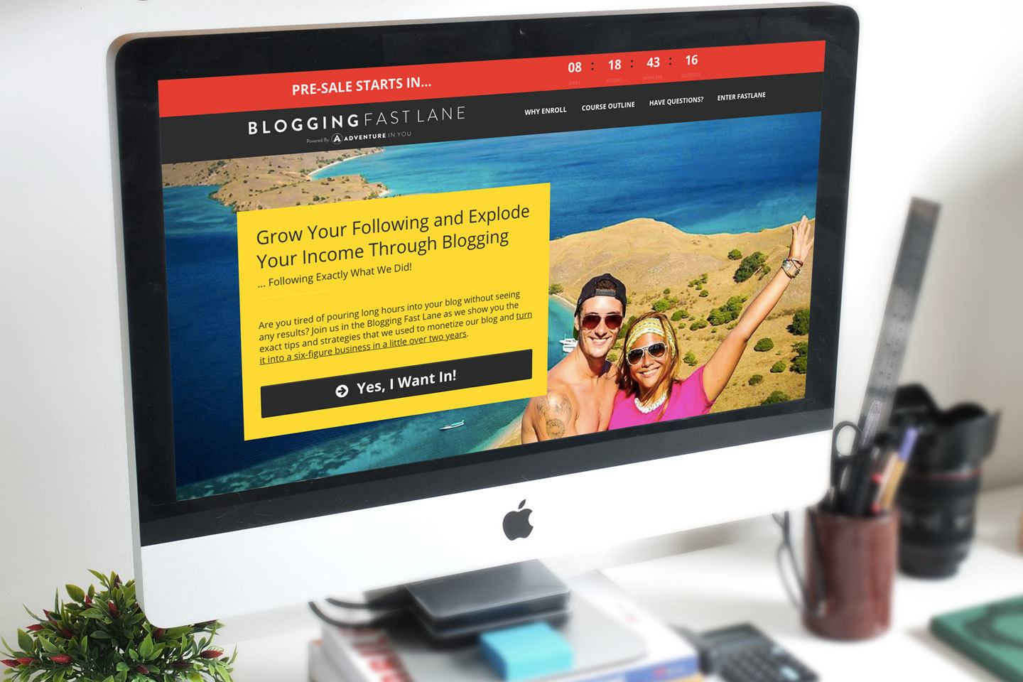 blogging fast lane course