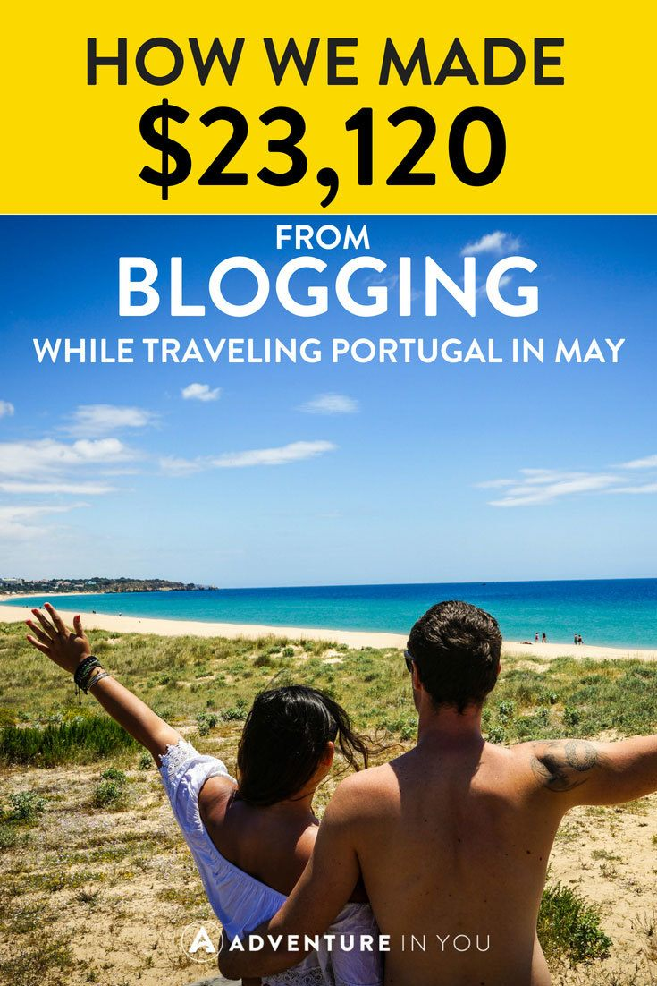 may income report from blogging