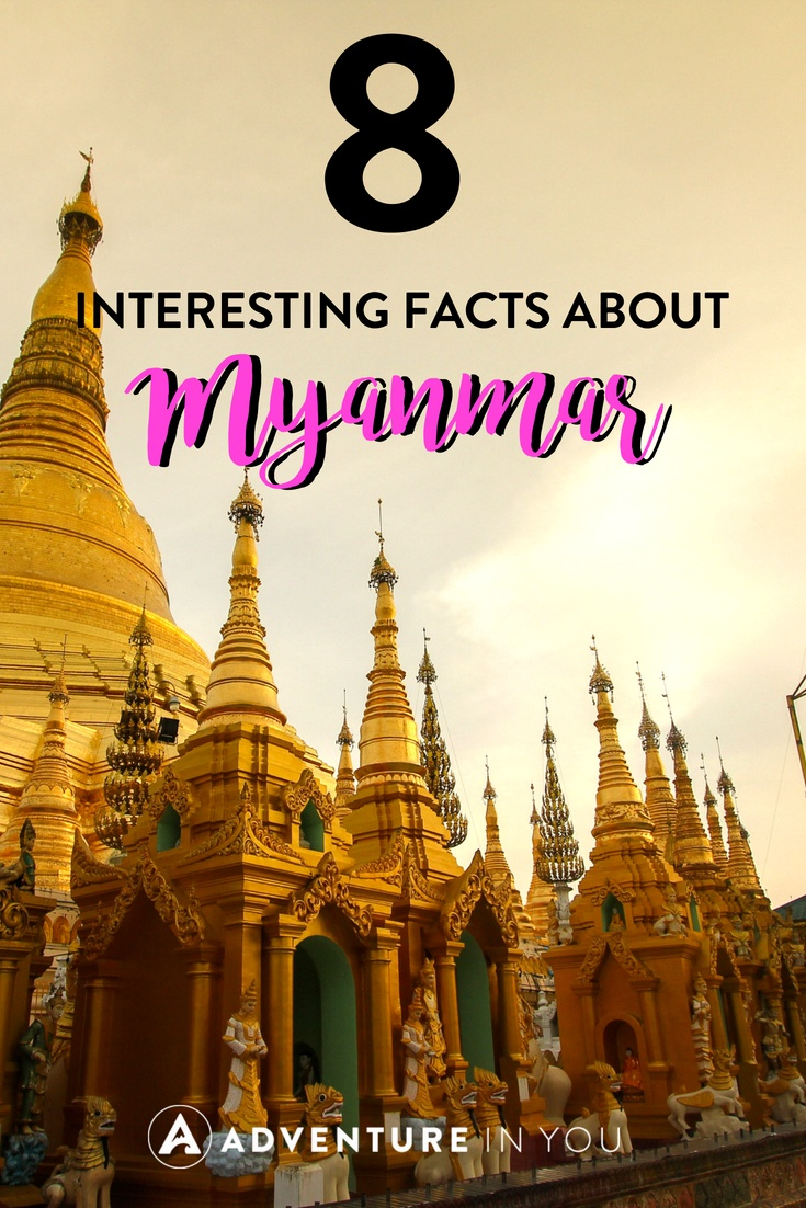 Myanmar Facts | Planning to travel to Myanmar? Here are a few facts about Myanmar that you might not have known about. #myanmar #burma