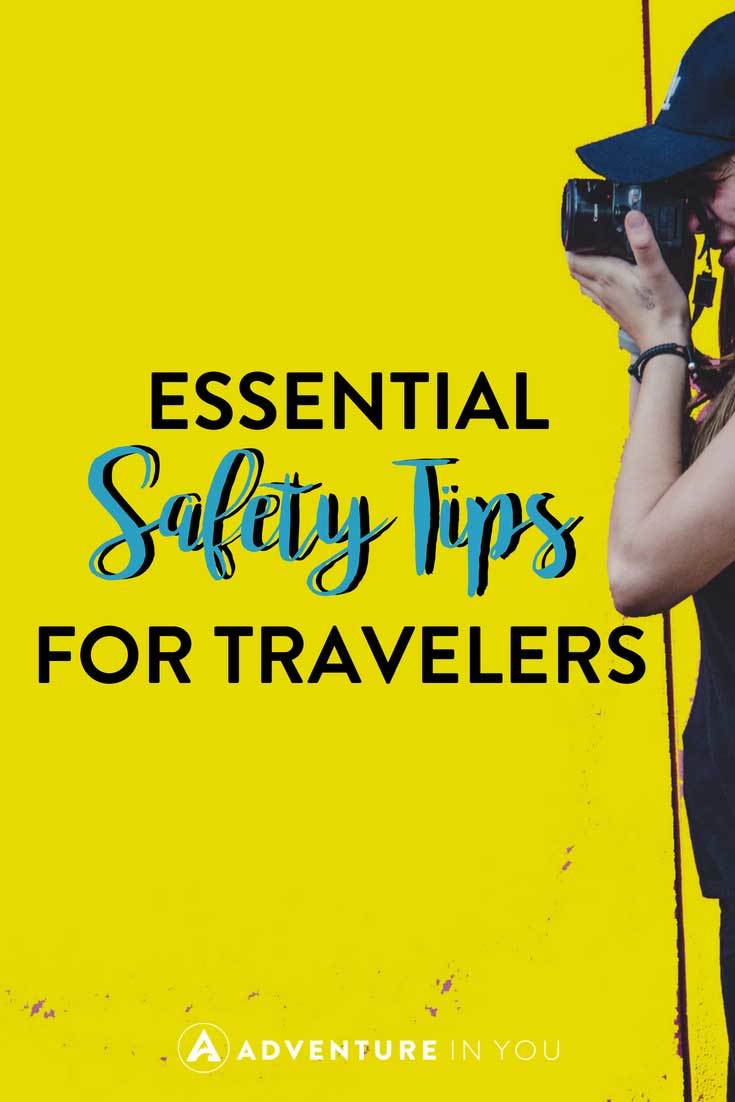 Safety Tips for Traveling | Looking for the best safety tips for traveling? Here are a few of our top recommendations based on 5 years of travel. #safety #traveling #femalesafety