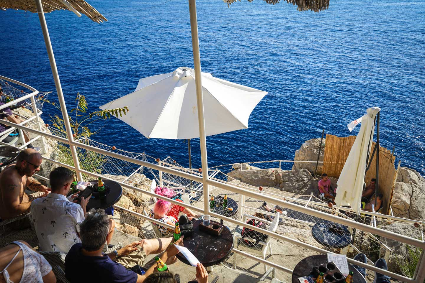 beach-bar dubrovnik