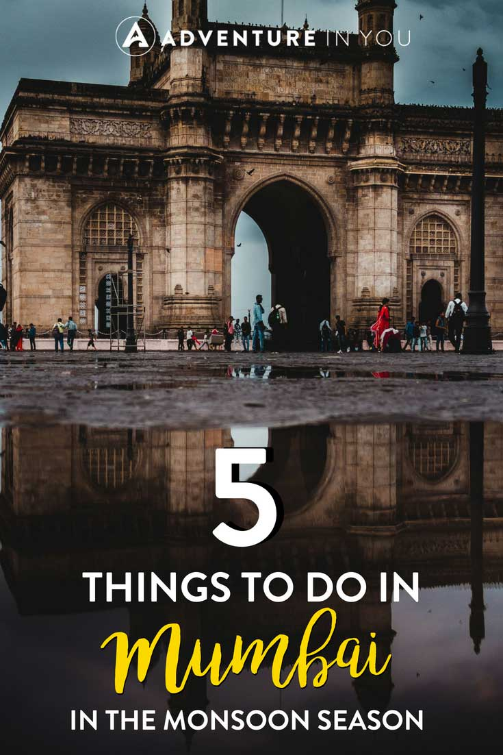 Mumbai India | Looking for things to do in India during the monsoon season? Here are a few tips on how to enjoy the city despite the rain. #mumbain #monsoon #india