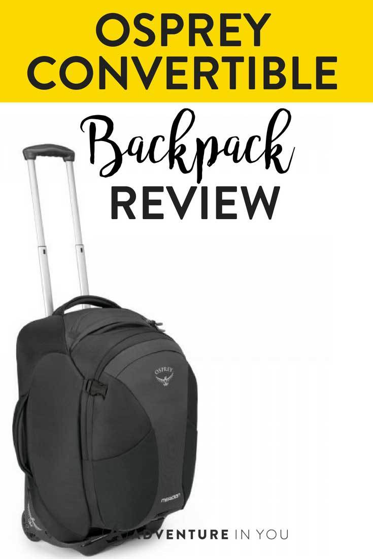 Osprey Backpack Review | Looking for a review of the Osprey Meridian? Take a look at our full review featuring the best features and reasons on why you should buy it.