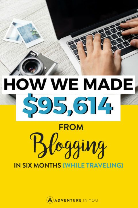Income Reports | Looking to get inspired? Take a look at how much we made from our travel blog in six months. This blogging income report details all our revenue sources, expenses, and more. #blogging #incomereports #onlinebusiness