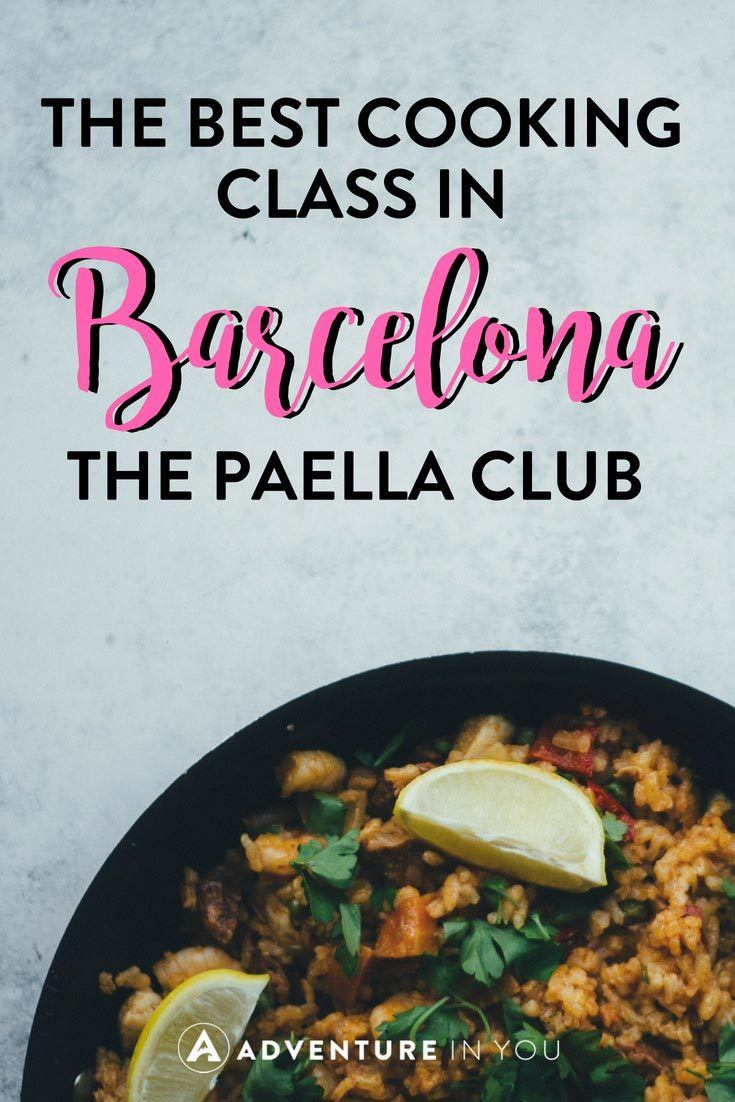 Cooking Classes in Barcelona | Looking for unique things to do in Barcelona? Why not take a cooking class with the guys at The Paella Club. Click here to read our full review.