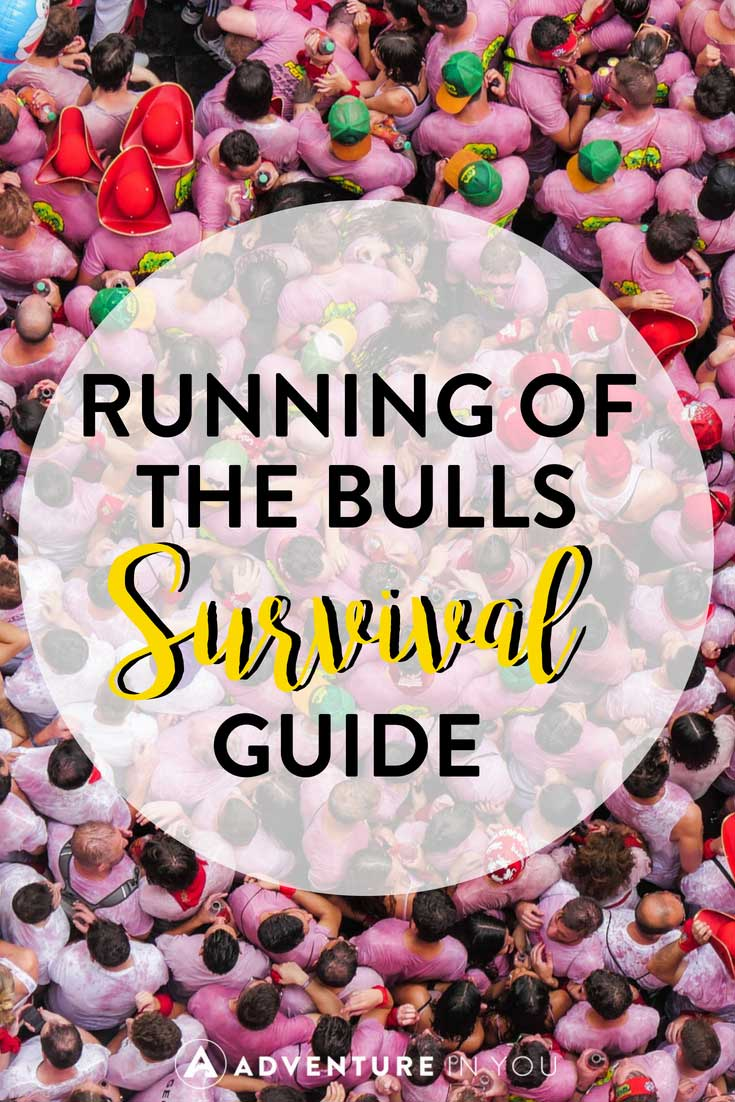 Running of the Bulls | Looking for tips on how to survive the legendary running of the bulls im Pamplona, Spain? Check out this survival guide featuring what to do during the festival.