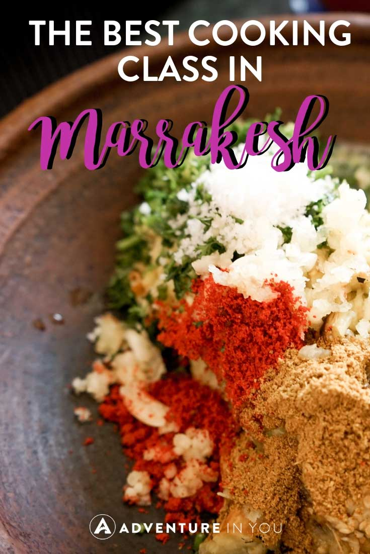 marrakesh cooking class | Looking for the best cooking classes in Marrakesh, Morocco? Read our full review of our cooking class with Cafe Clock booked using Cookly. #marrakesh #morocco #cookingclass