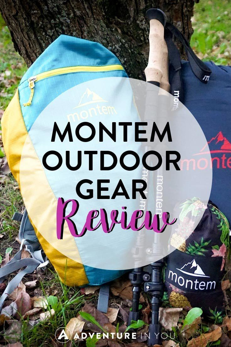 Montem Outdoor Gear | Looking for tips on the best outdoor gear to take on your next adventure? Check out this full review we did of Montem Outdoor Gear. #gear #outdoorgear