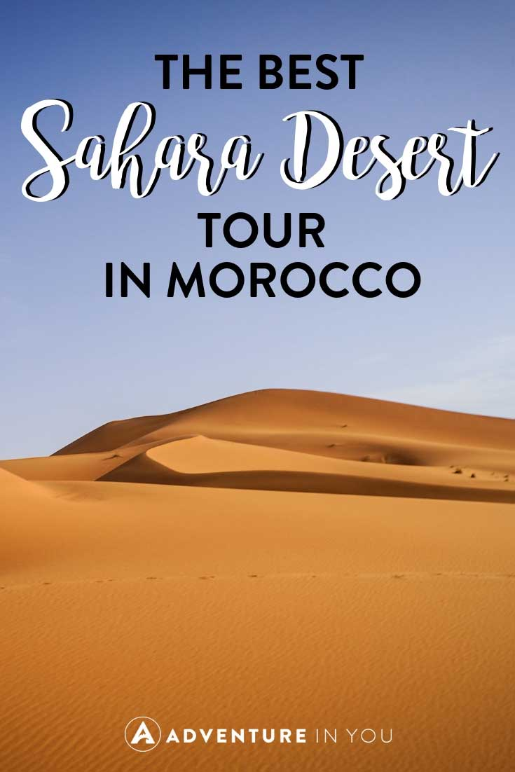 Sahara Desert Morocco | Looking for the best Morocco Desert tours? Read our 3 day experience traveling from Fes to Marrakesh as we spent one night in the Sahara Desert on a luxury tent. #morocco #saharadesert #sahara #marrakesh #fes