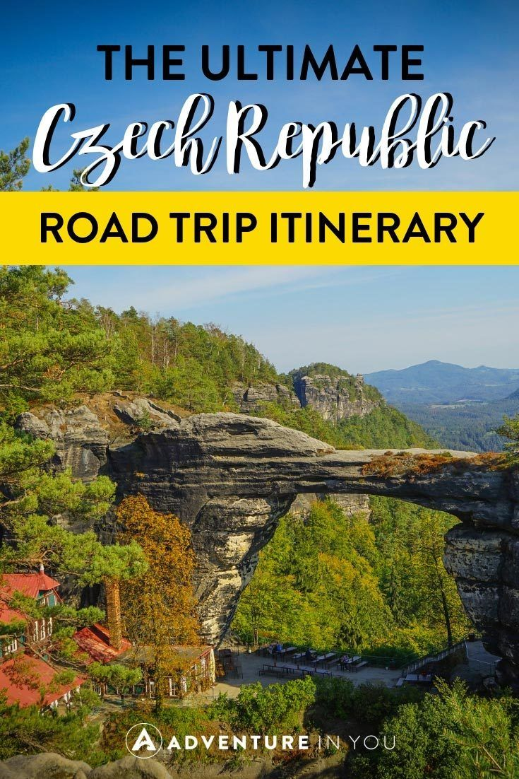 Czech Republic | Planning to travel around the Czech Republic and discover the country beyond Prague? Here's our complete Czech Republic roadtrip guide featuring an 8 day itinerary around the country. #prague #czechrepublic