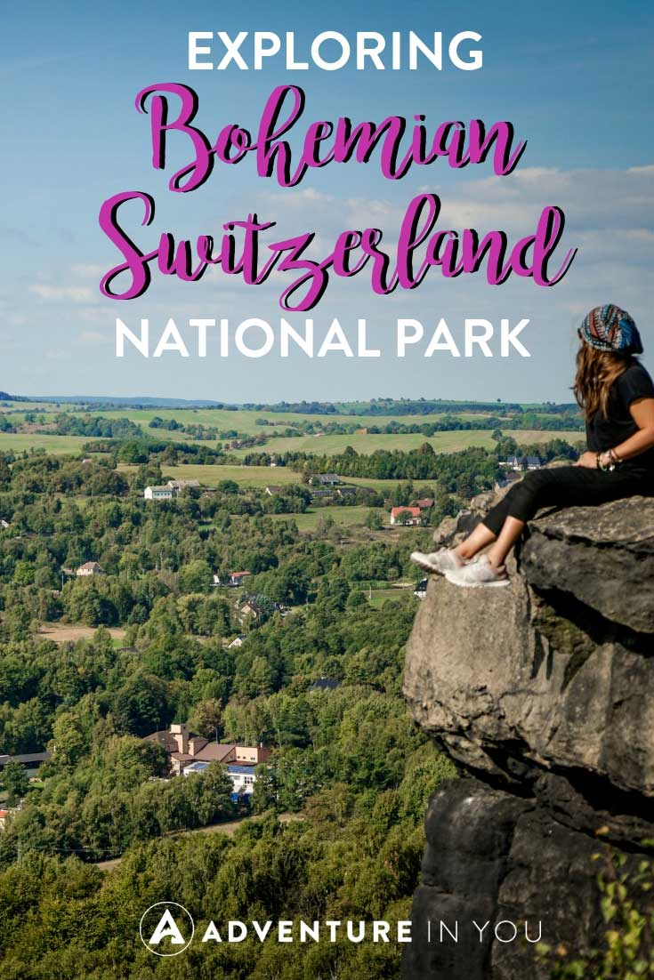 Bohemian Switzerland National Park | Looking for an incredible day trip from Prague? Take a look at our guide to the Bohemian Switzerland National Park featuring the best things to do and how to explore the park. #czechrepublic #prague #bohemianswitzerland