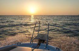 dubrovnik boats sunset