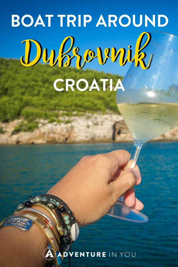Dubrovnik Croatia | Looking for fun things to do in Dubrovnik Croatia? Take a look at our full review of when we went island hopping around Dubrovnik on a boat. #dubrovnik #dubrovnikboattours #croatia