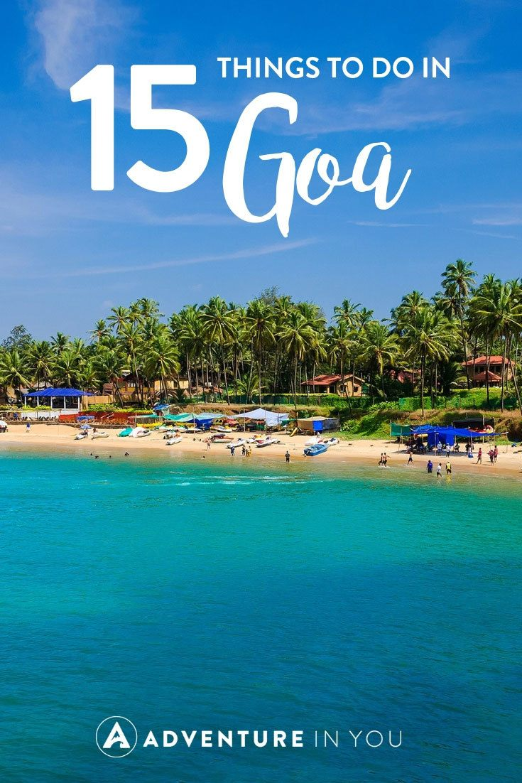 Goa, India | Looking for tips on traveling Goa? Here's our list of epic things to do in Goa. From exploring the waterfalls all the way to the beaches of Goa, this beautiful chilled little hippie town is a place worth visiting while in India. #india #goa