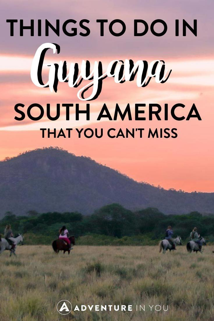 Guyana | Looking for things to do in Guyana? Take a look at this ultimate Guyana Adventure Guide #guyana