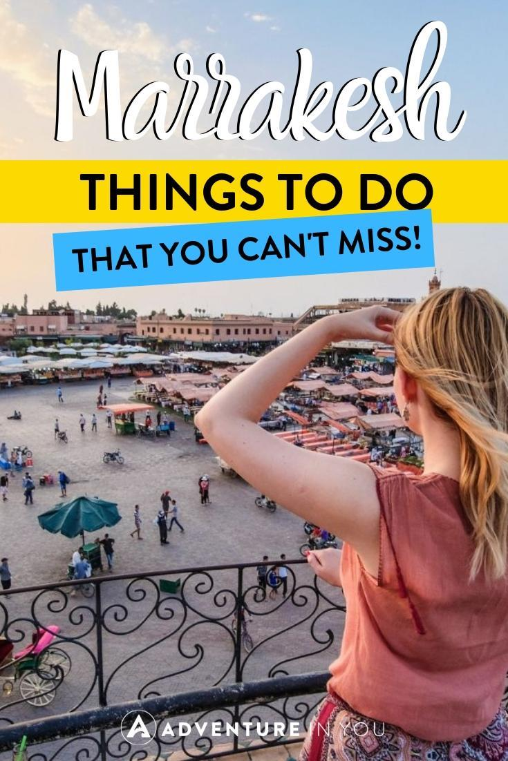 Things to Do in Marrakesh | Headed to Marrakesh soon? Here are 29 amazing things do in Marrakesh that you shouldn't miss!