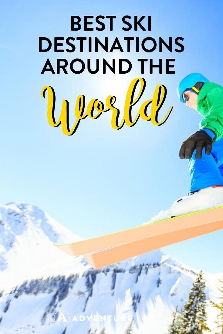 Skiing | Looking for the bet ski destinations in the world? Take a look at out top picks for the best ski resorts and experiences.