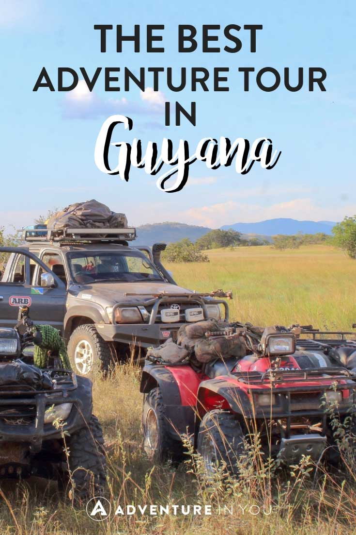 Guyana Adventure Tour | Looking for incredible things to do in Guyana? How about going on an ATV adventure tour in the Savannah Take a look at our full review for more details.