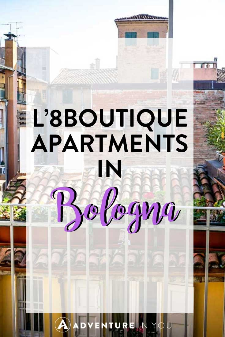 Bologna Accommodation Review| Looking for places to stay in Bologna, Italy? Take a look at our review of L'8 Boutique Apartments. #italy #bologna