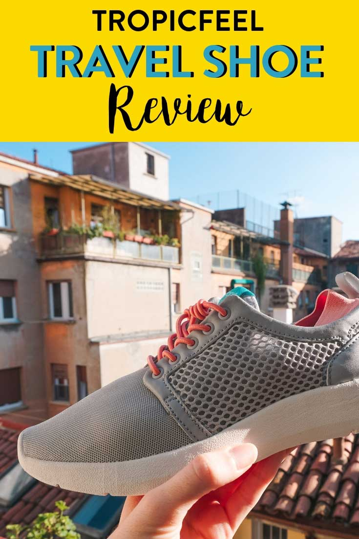Travel Shoe | Looking for a good travel shoe to take with you on your travels? Read my review on Tropicalfeel, a self funded travel shoe made by travelers for travelers. #travelshoe #shoereview