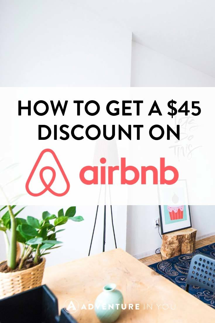 Airbnb Coupon Code | Looking for an Airbnb coupon code to use? Here's our code to get you a whopping $45 discount for Airbnb #airbnb #travel #travelhack #discount