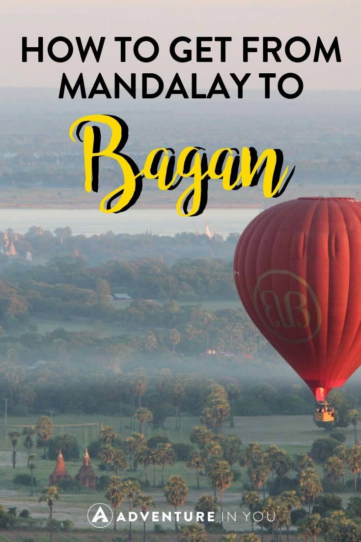 Mandalay-Bagan | Wondering how to travel from Mandalay to Bagan? Here's everything you need to know. #bagan #mandalay #myanmar