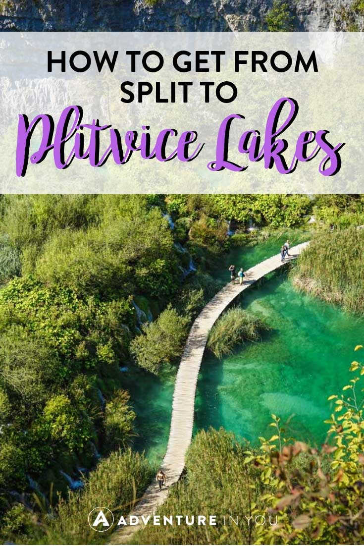 Split to Plitvice Lakes | Looking for the best way to travel between Split to Plitvice National Park? Here are our top tips and guide on how to do it. #croatia #plitvice #split