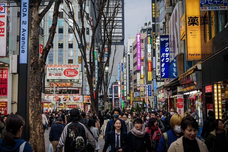 japan tokyo streets