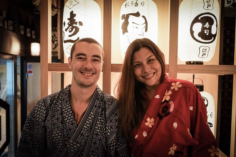 kimono tom and anna