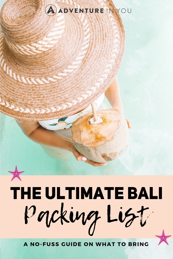 Bali Packing List | Looking for what to bring with you to Bali? Check out our ultimate guide on what to take with you! #packinglist #bali
