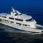 Blue Spirit galapagos boat