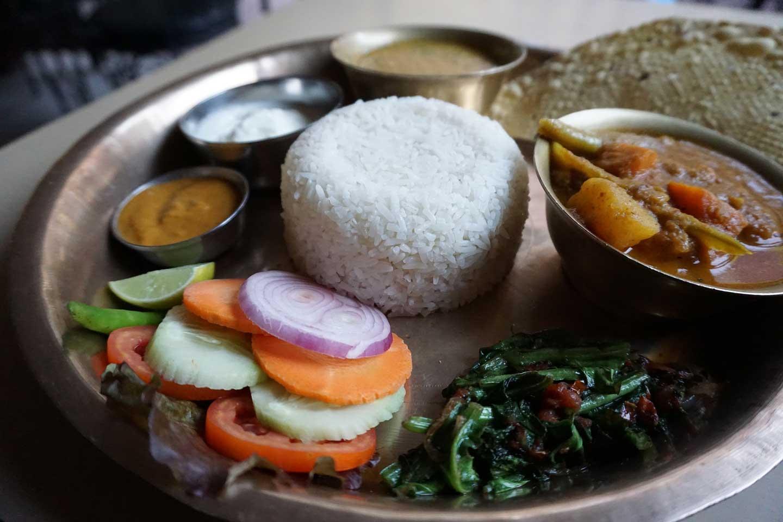 dhal bat meal in nepal